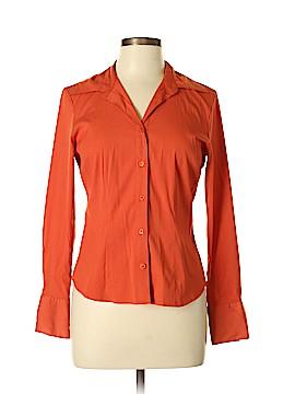 Como Long Sleeve Button-Down Shirt Size M