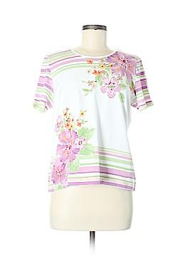 Alfred Dunner Short Sleeve T-Shirt Size M (Petite)