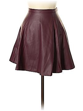 LC Lauren Conrad Faux Leather Skirt Size 6
