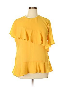 Neiman Marcus Short Sleeve Blouse Size XL