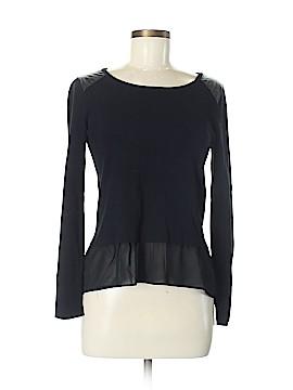INC International Concepts Long Sleeve Top Size M (Petite)