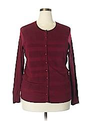 Charter Club Women Cardigan Size 1X (Plus)
