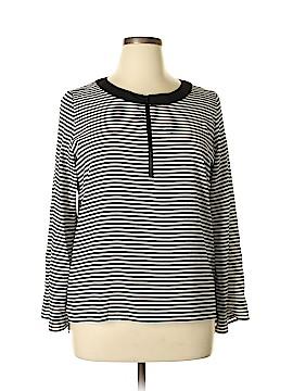 Calvin Klein 3/4 Sleeve Blouse Size L
