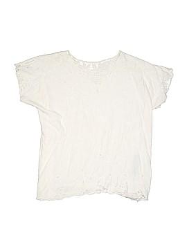 Jane Ashley Short Sleeve Blouse Size M