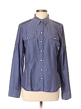 Banana Republic Long Sleeve Button-Down Shirt Size L (Petite)