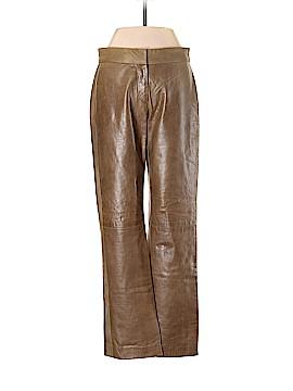 DKNY Leather Pants Size 4