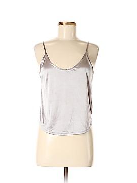 Kys Sleeveless Silk Top Size M
