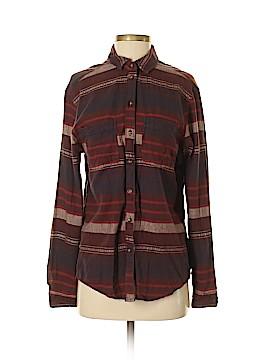 BDG Long Sleeve Button-Down Shirt Size S