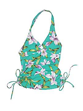 Tropical Escape Swimsuit Top Size M