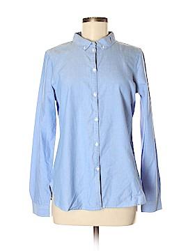 Vero Moda Long Sleeve Button-Down Shirt Size M