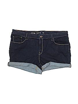 Ava & Viv Denim Shorts Size 18w (Plus)