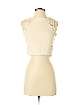 Lucy Paris Sleeveless Blouse Size XS