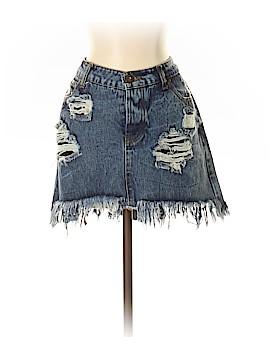 Vintage Havana Denim Skirt 27 Waist