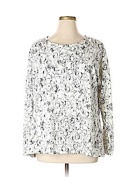 Liz Claiborne Sweatshirt Size 1X (Plus)