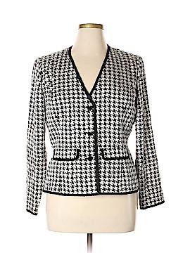 Adrianna Papell Silk Blazer Size 16