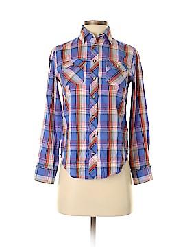 BDG Long Sleeve Button-Down Shirt Size XS