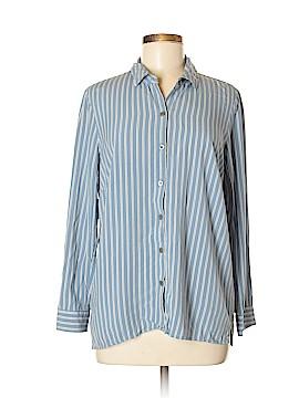 J.jill Long Sleeve Button-Down Shirt Size M (Petite)