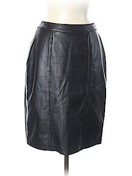 Escada Leather Skirt Size 38 (EU)
