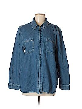 Sag Harbor Denim Jacket Size M