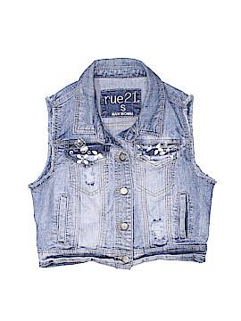 Rue21 Denim Vest Size S