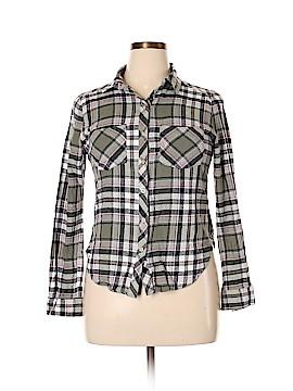 Bongo Long Sleeve Button-Down Shirt Size XL