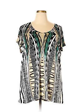 Nic + Zoe Short Sleeve Top Size 2X (Plus)