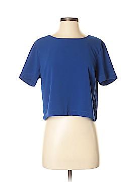 Wells Grace Short Sleeve Blouse Size M