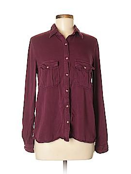 Harper Long Sleeve Button-Down Shirt Size M