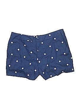 British Khaki Khaki Shorts Size 12