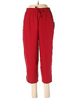 Sag Harbor Silk Pants Size M (Petite)