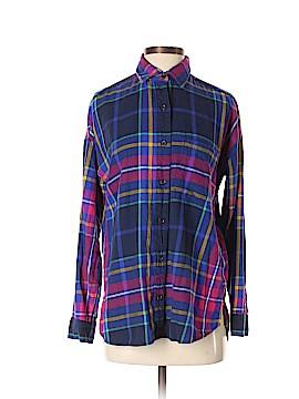 Nike Long Sleeve Button-Down Shirt Size S