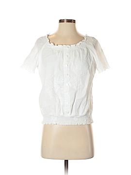 JM Collection Short Sleeve Blouse Size S (Petite)
