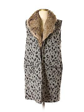 Jolt Faux Fur Vest Size L