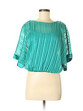 BCX Short Sleeve Blouse Size M