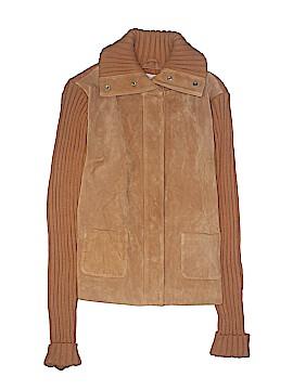 Kim Rogers Leather Jacket Size S