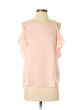 Iz Byer Short Sleeve Blouse Size S