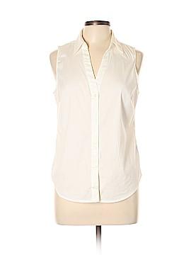 Premise Studio Sleeveless Button-Down Shirt Size L