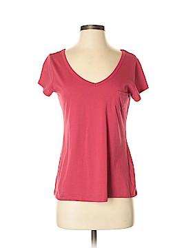 Pink Rose Short Sleeve T-Shirt Size M