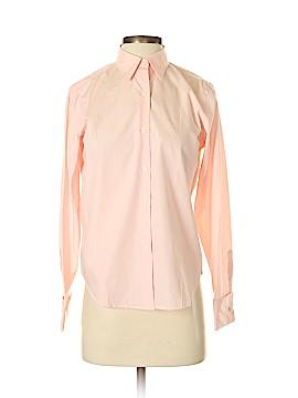 Lauren by Ralph Lauren Long Sleeve Button-Down Shirt Size P (Petite)