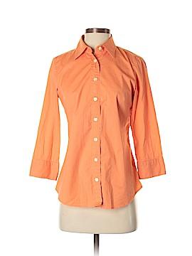 J. Crew 3/4 Sleeve Button-Down Shirt Size S
