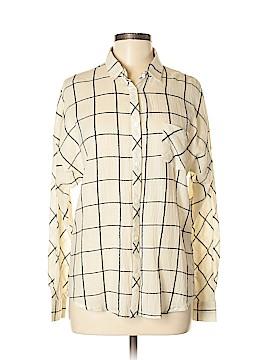 Promesa U.S.A. Long Sleeve Button-Down Shirt Size M