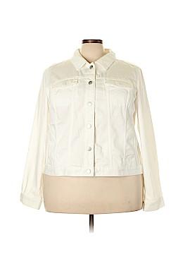 Lane Bryant Denim Jacket Size 24 (Plus)