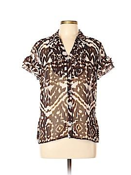 East5th Short Sleeve Blouse Size XL (Petite)