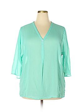 Sejour 3/4 Sleeve Blouse Size 2X (Plus)