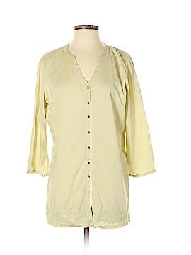 J.jill 3/4 Sleeve Button-Down Shirt Size S