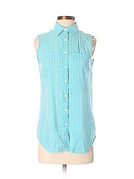 Van Heusen Sleeveless Button-Down Shirt Size S