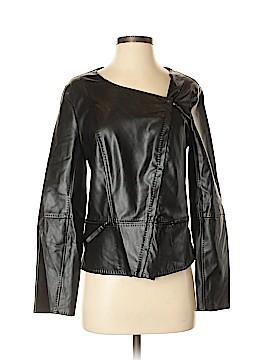 M.S.S.P. Faux Leather Jacket Size S