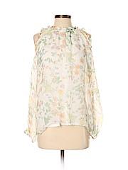 Prontomoda Giusy Long Sleeve Silk Top