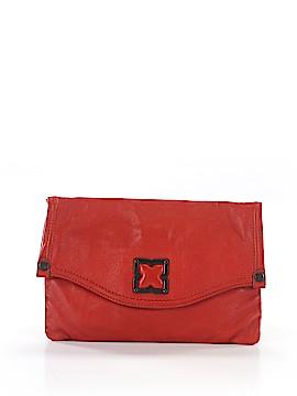 BCBGMAXAZRIA Leather Clutch One Size