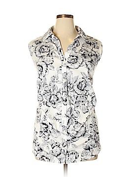 Charter Club Sleeveless Button-Down Shirt Size 24 (Plus)